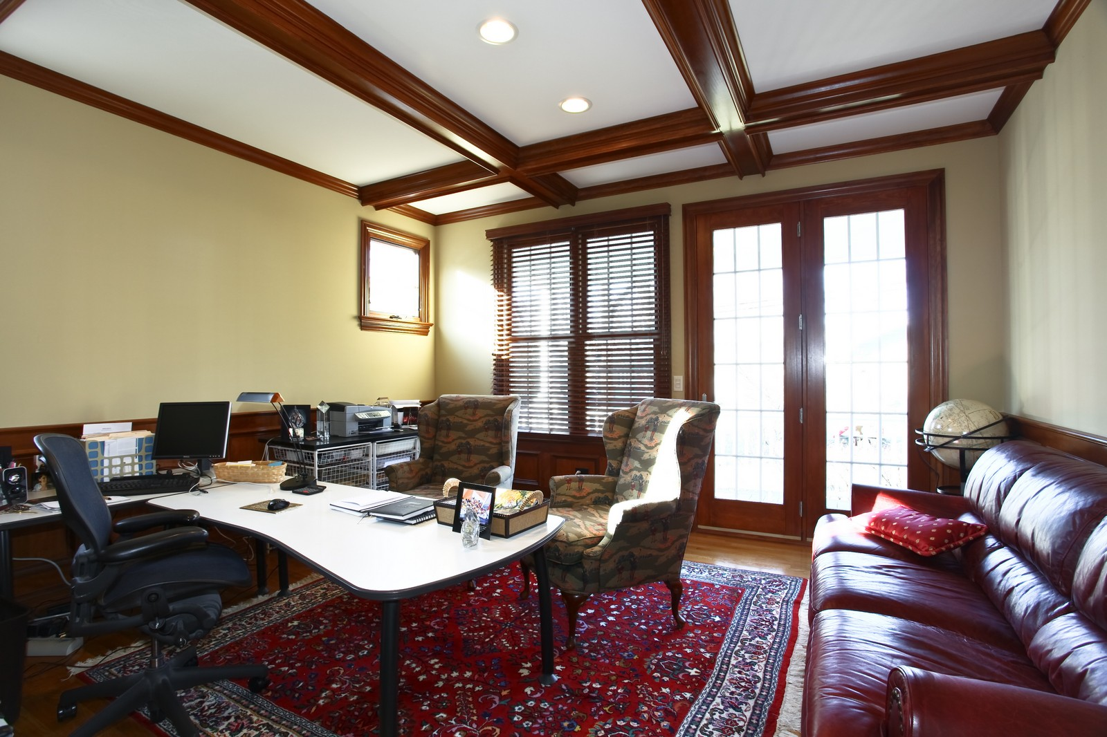 Real Estate Photography - 663 N Webster Street, Naperville, IL, 60563 - Office