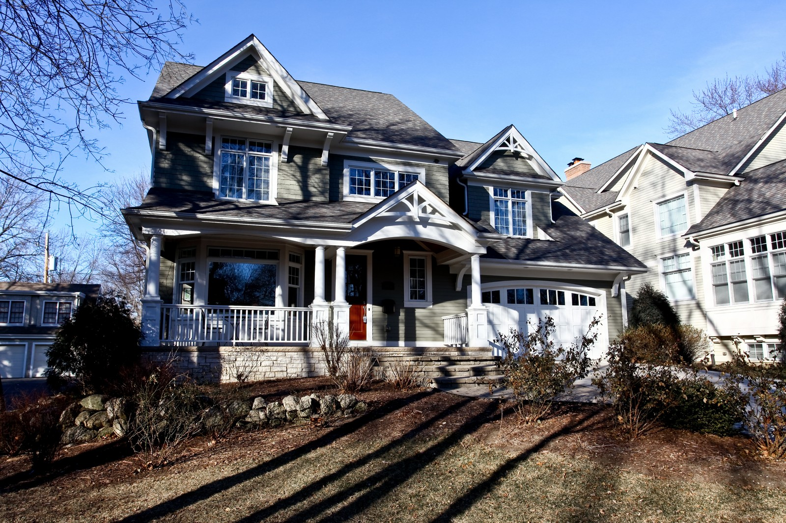Real Estate Photography - 663 N Webster Street, Naperville, IL, 60563 - Front View