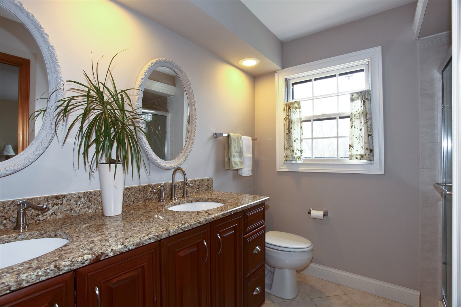 Real Estate Photography - 1244 Redfield Road, Naperville, IL, 60563 - Master Bathroom
