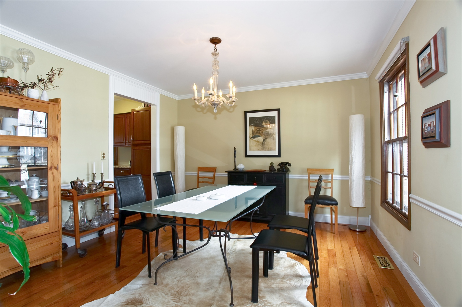 Real Estate Photography - 1244 Redfield Road, Naperville, IL, 60563 - Dining Room
