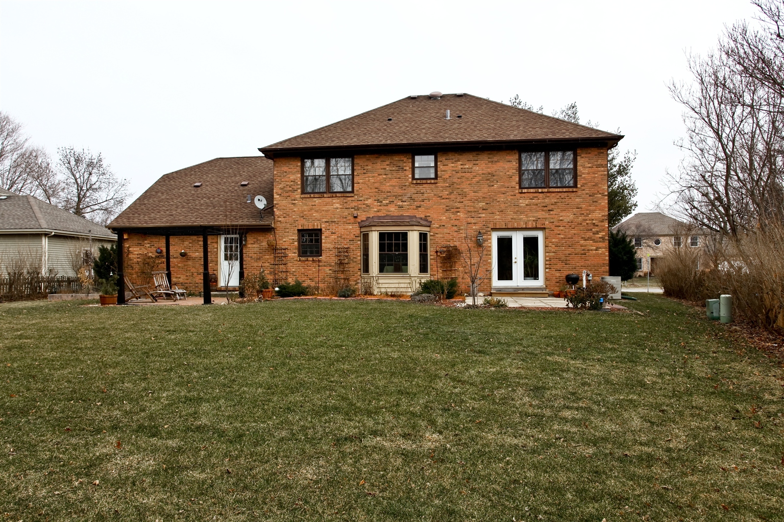 Real Estate Photography - 1244 Redfield Road, Naperville, IL, 60563 - Rear View
