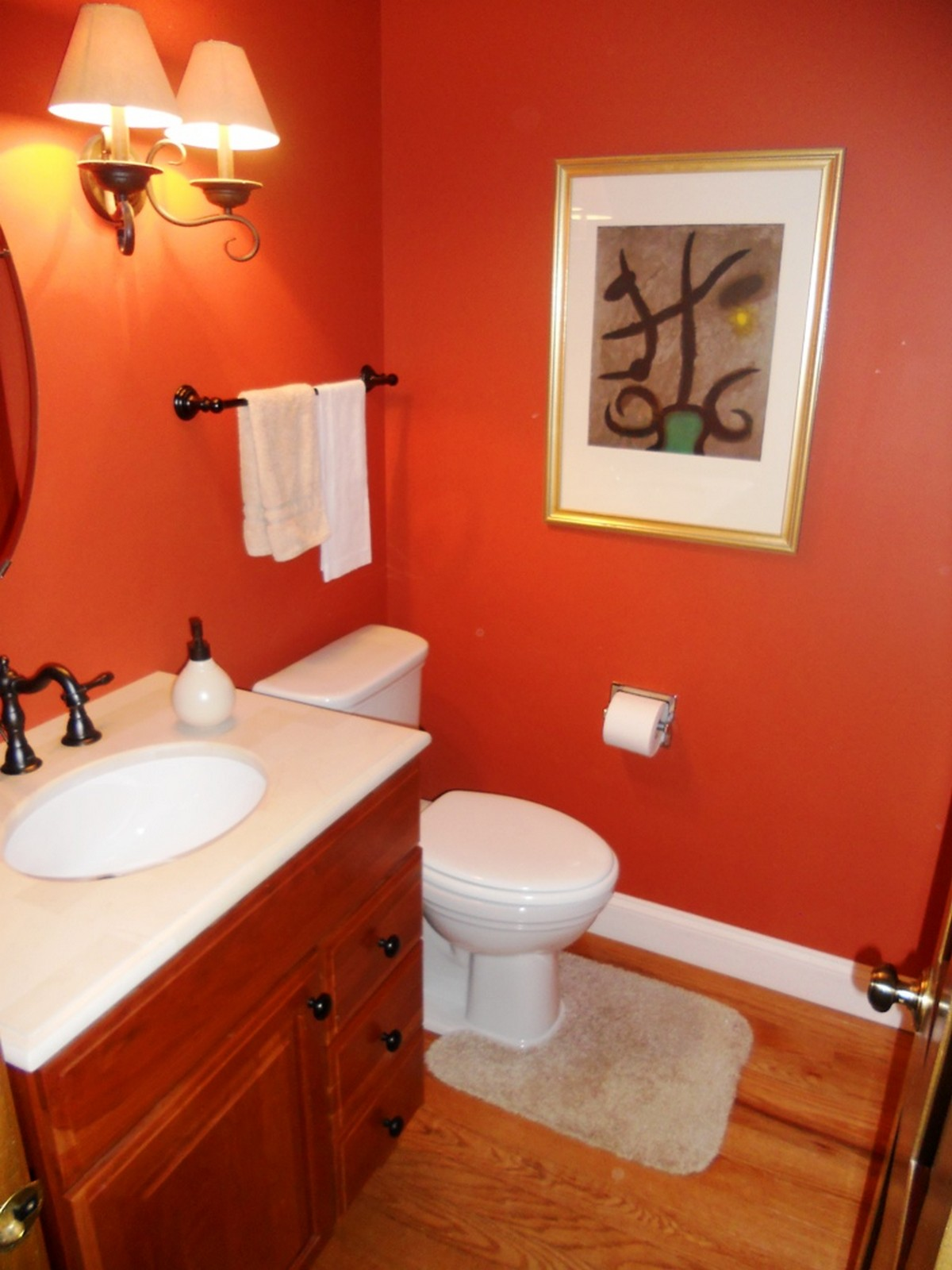Real Estate Photography - 1244 Redfield Road, Naperville, IL, 60563 - First Floor Powder Room