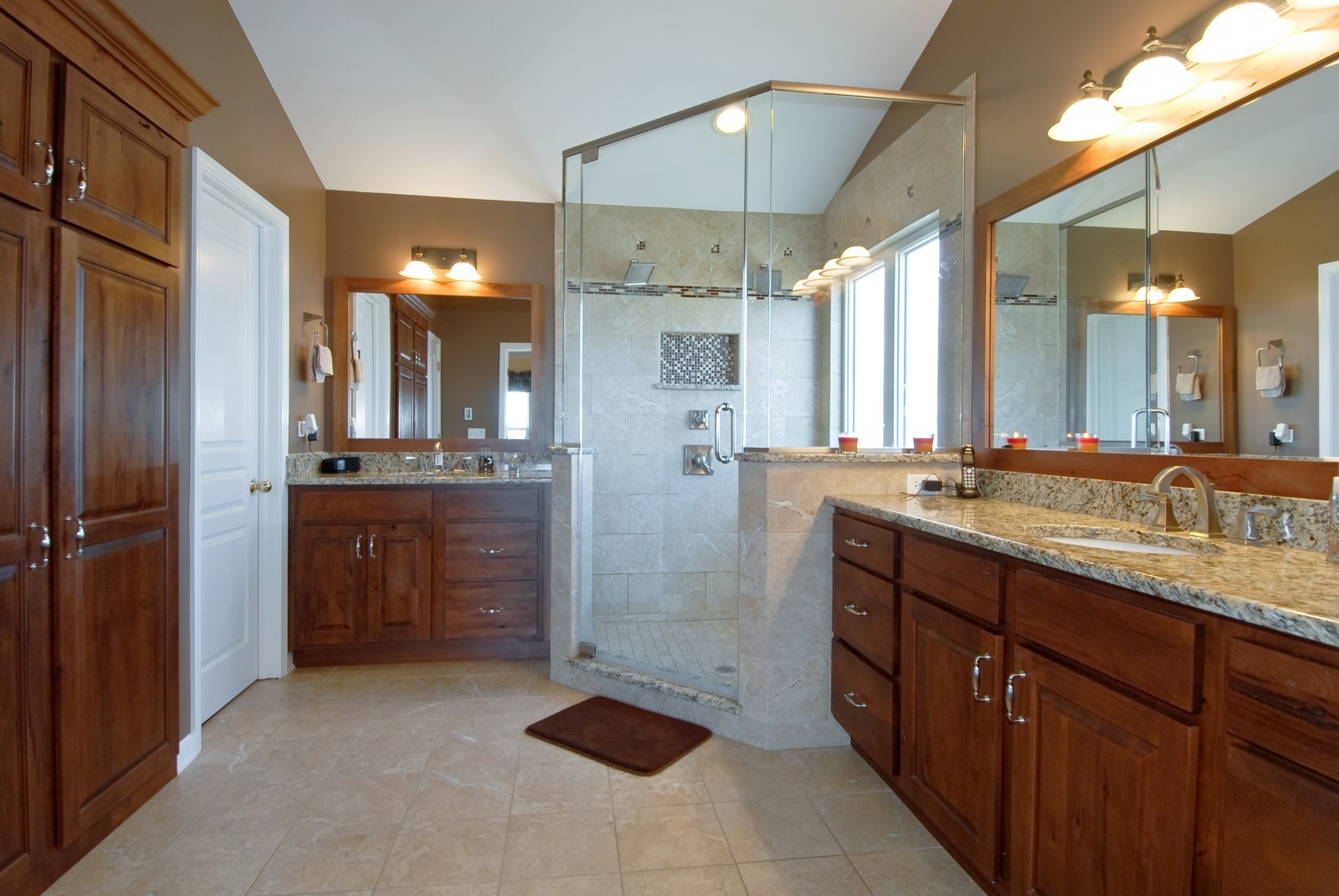 Real Estate Photography - 12959 Stockton Ave, Plainfield, IL, 60585 - Master Bathroom