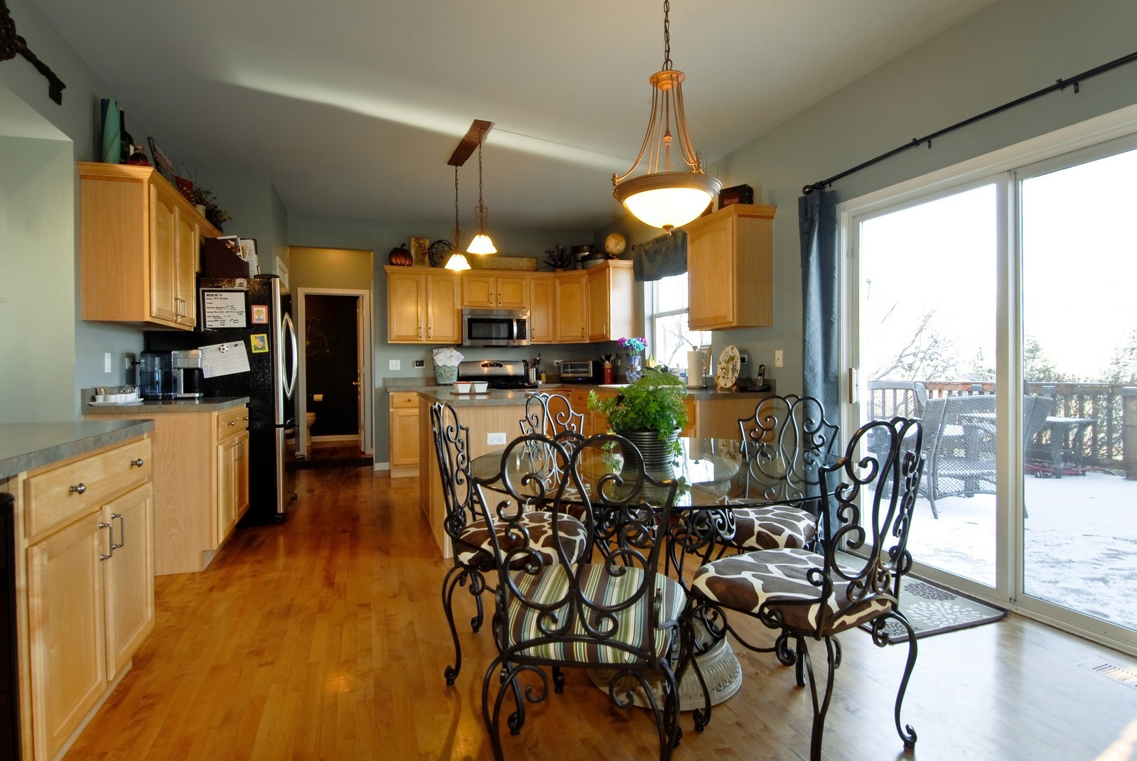 Real Estate Photography - 12959 Stockton Ave, Plainfield, IL, 60585 - Kitchen / Breakfast Room