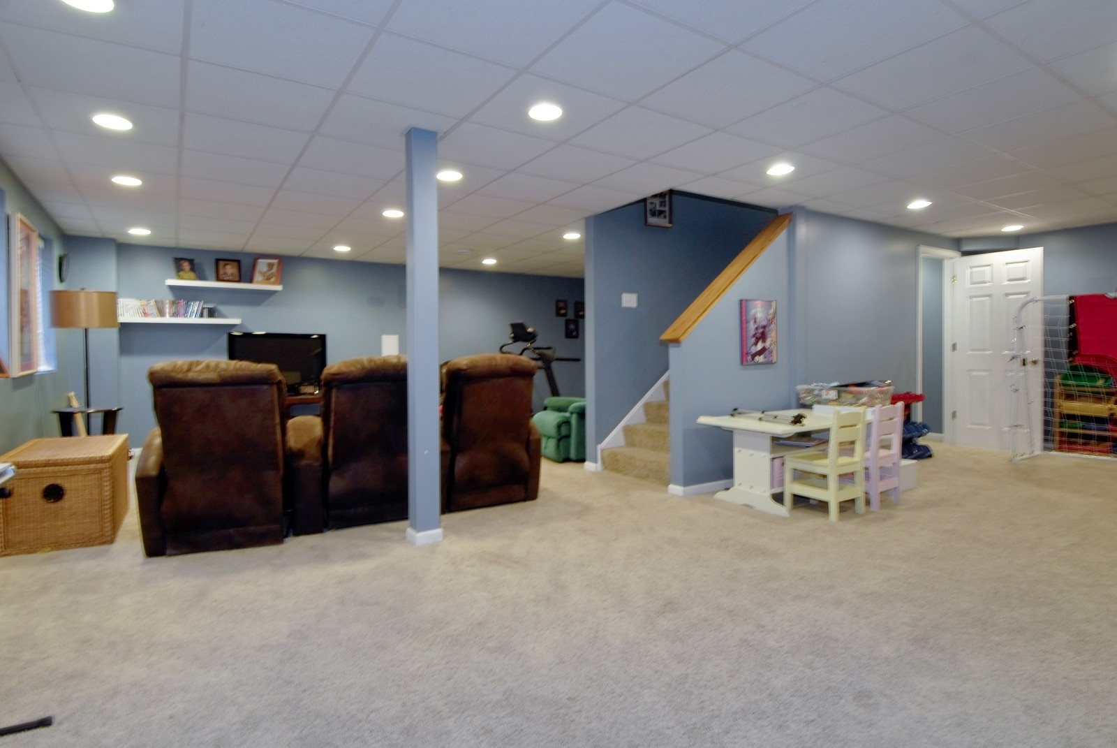 Real Estate Photography - 12959 Stockton Ave, Plainfield, IL, 60585 - Basement