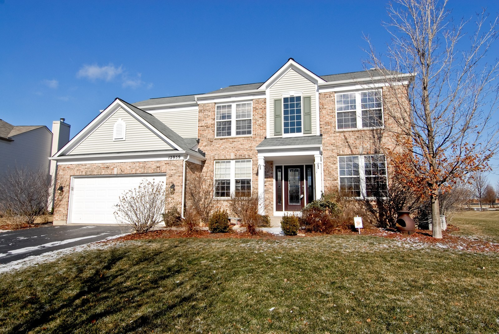 Real Estate Photography - 12959 Stockton Ave, Plainfield, IL, 60585 - Front View