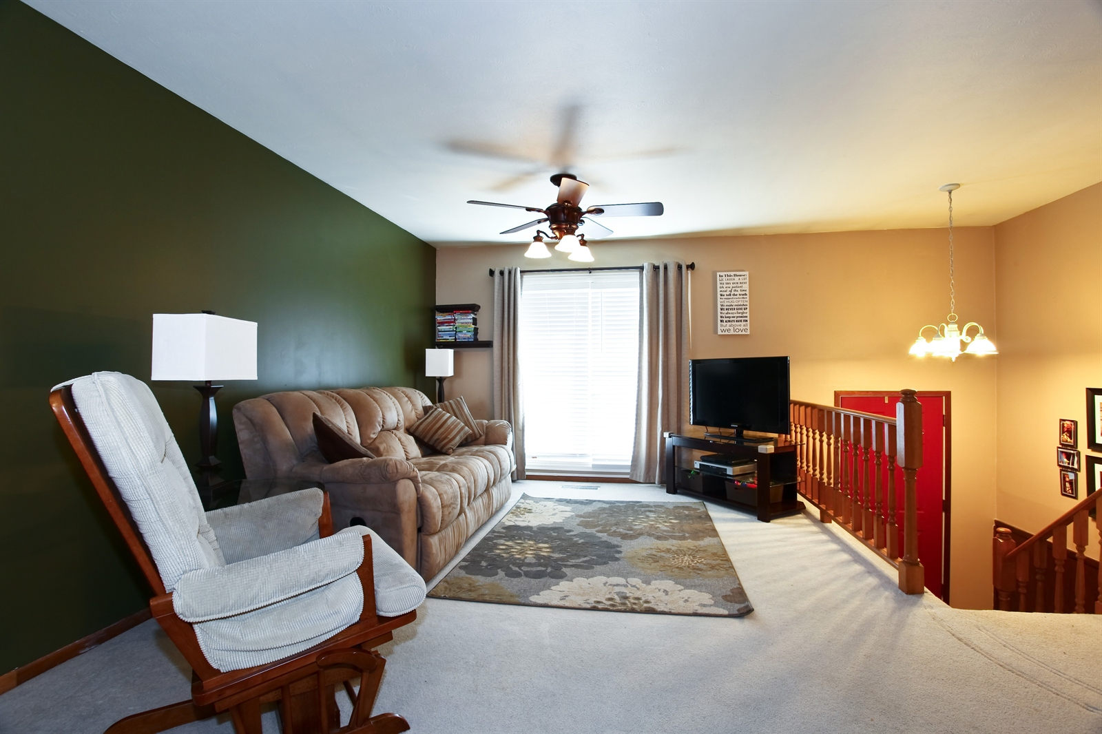 Real Estate Photography - 7639 Willow Ave, Woodridge, IL, 60517 - Living Room