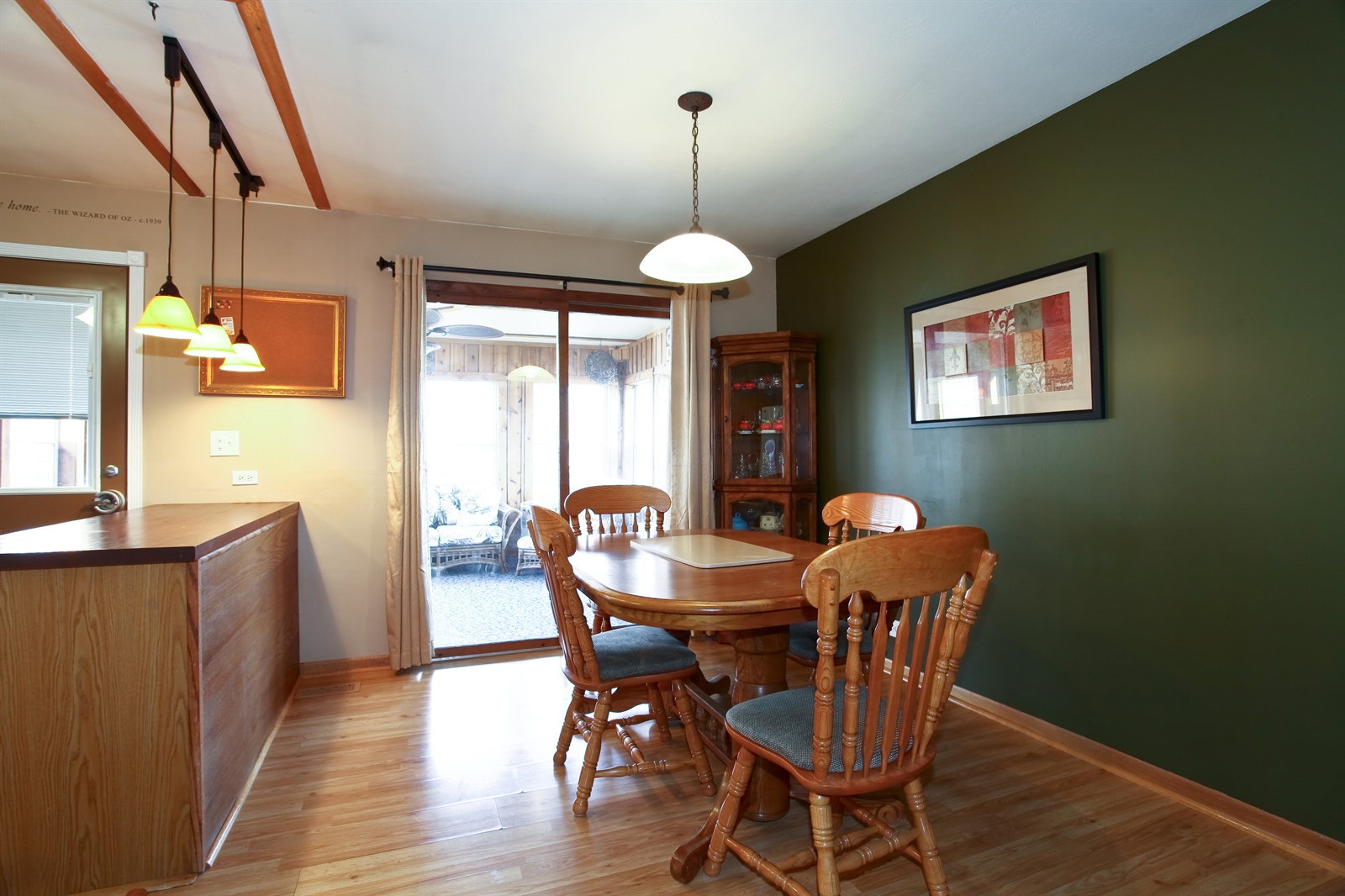 Real Estate Photography - 7639 Willow Ave, Woodridge, IL, 60517 - Dining Room