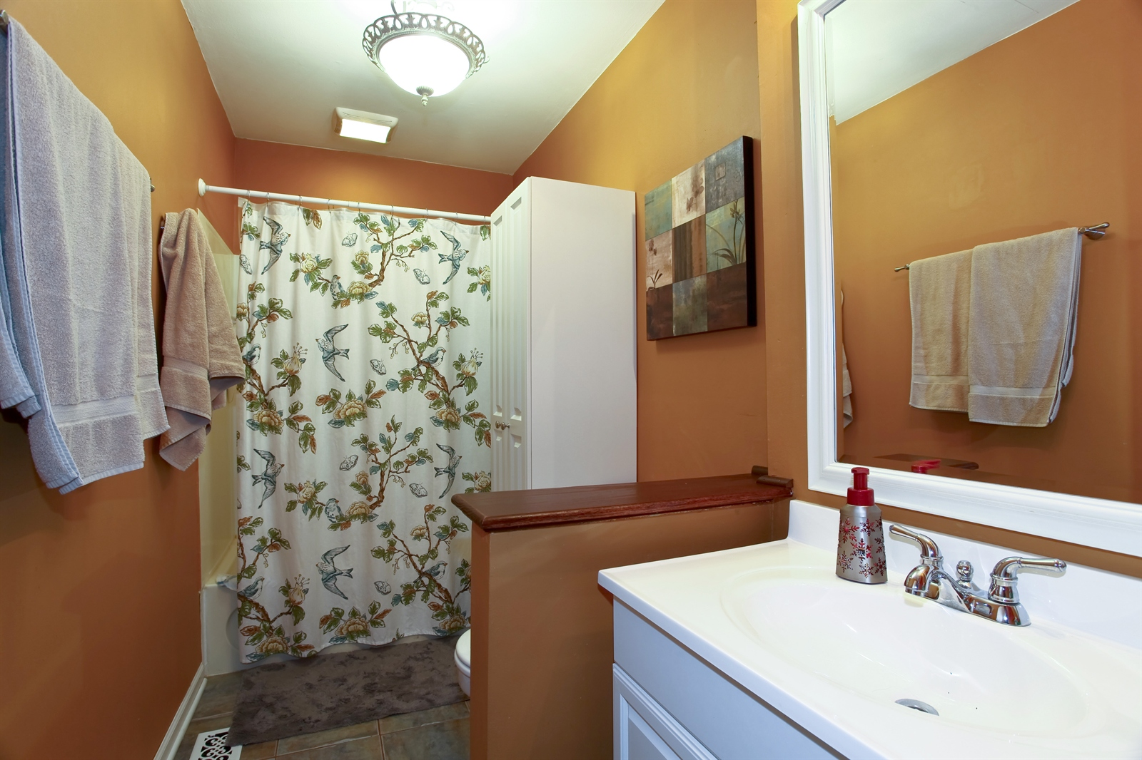 Real Estate Photography - 7639 Willow Ave, Woodridge, IL, 60517 - Bathroom