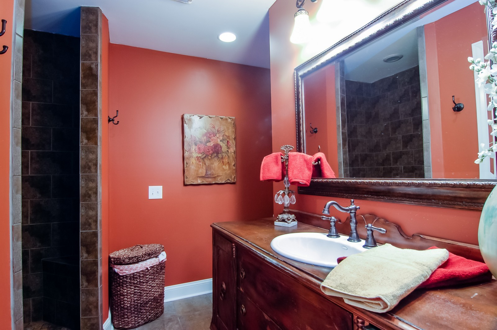 Real Estate Photography - 360 Bloomingdale Rd, Itasca, IL, 60143 - Master Bathroom