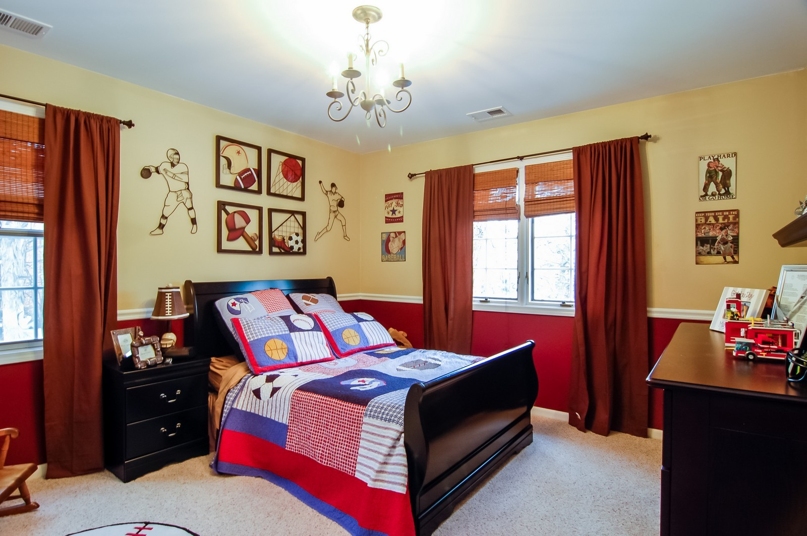 Real Estate Photography - 360 Bloomingdale Rd, Itasca, IL, 60143 - Bedroom