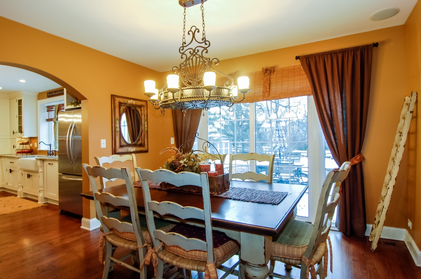Real Estate Photography - 360 Bloomingdale Rd, Itasca, IL, 60143 - Dining Room