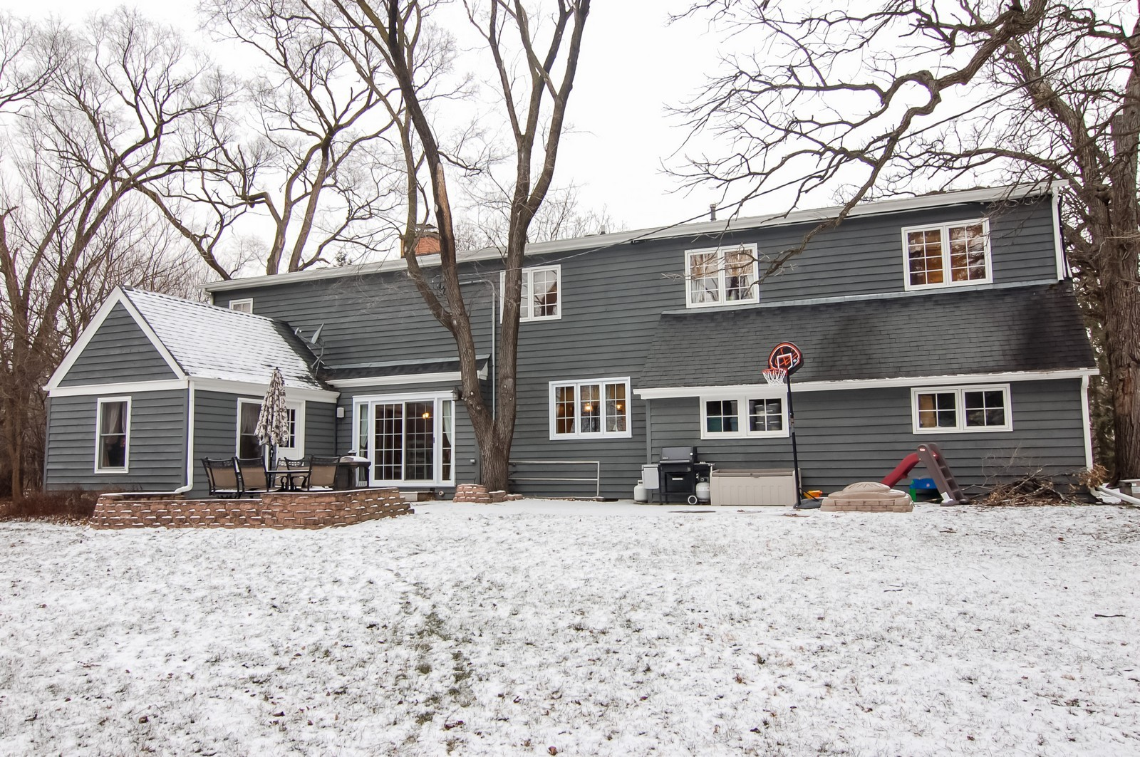 Real Estate Photography - 360 Bloomingdale Rd, Itasca, IL, 60143 - Rear View