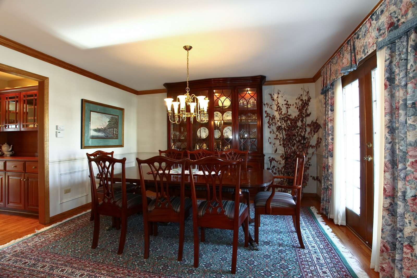 Real Estate Photography - 1032 Royal Bombay Court, Naperville, IL, 60563 - Dining Room