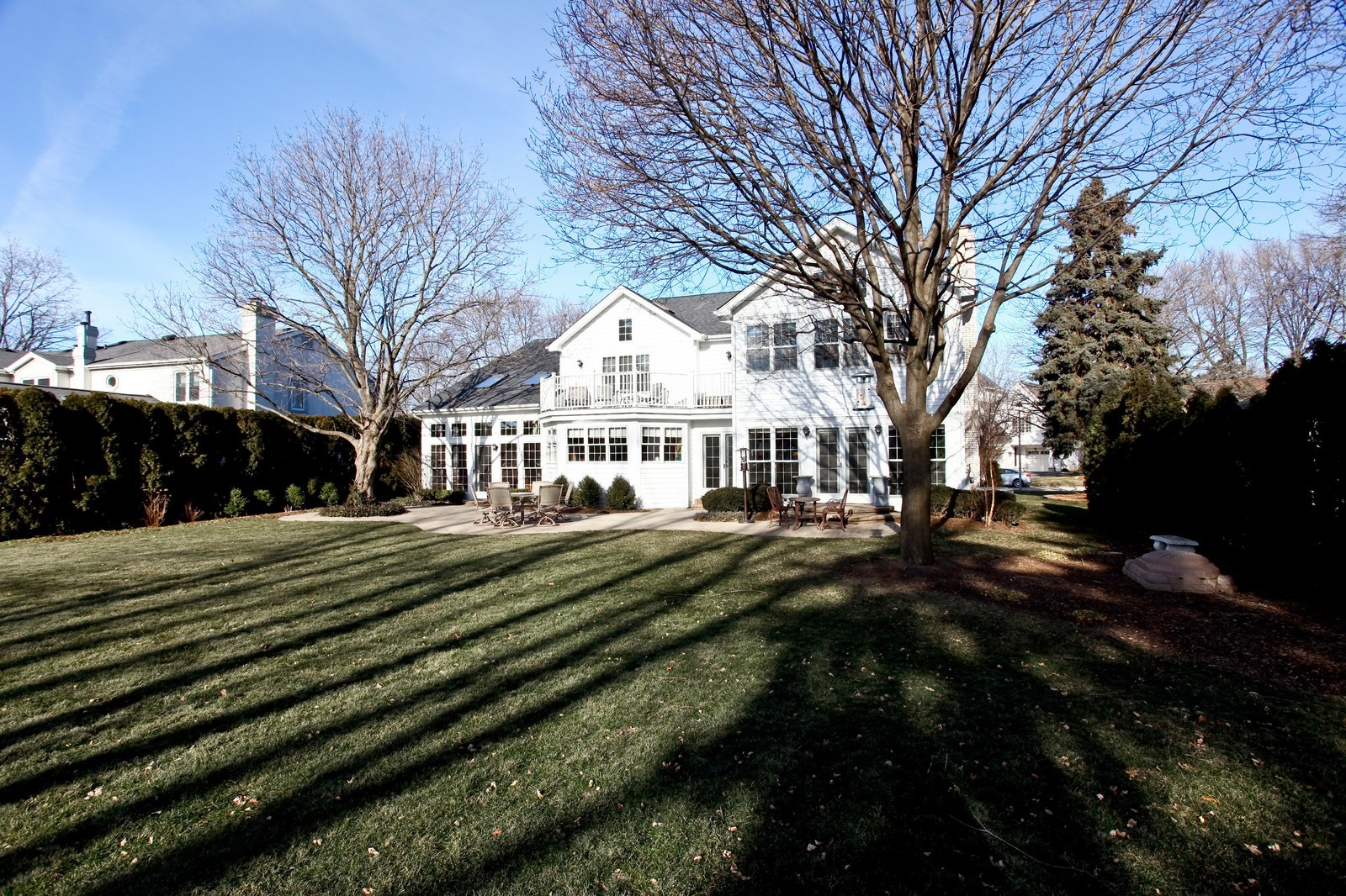 Real Estate Photography - 1032 Royal Bombay Court, Naperville, IL, 60563 - Rear View