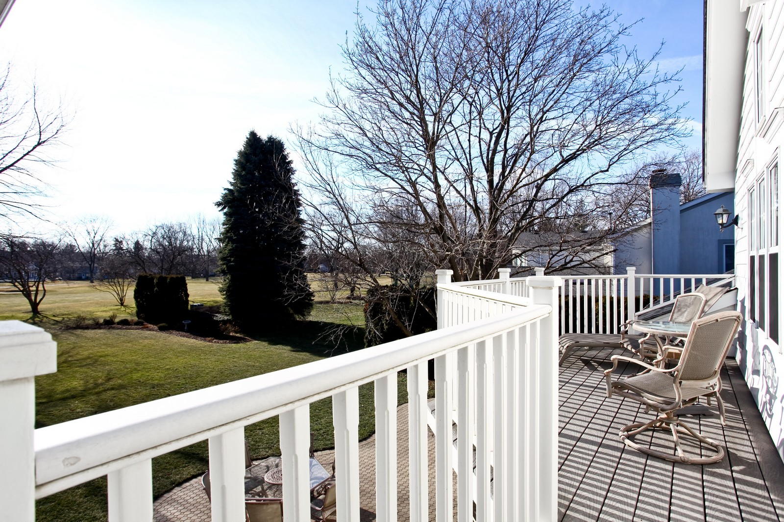Real Estate Photography - 1032 Royal Bombay Court, Naperville, IL, 60563 - Deck