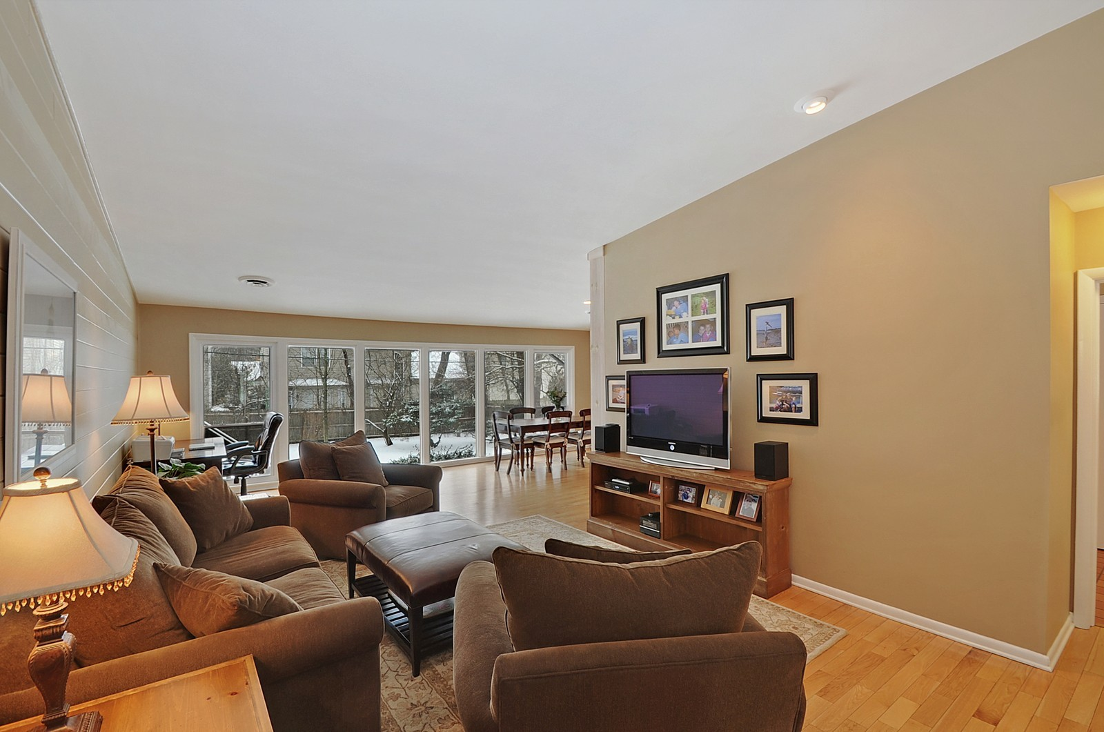 Real Estate Photography - 734 Marion Ave, Highland Park, IL, 60035 - Living Room
