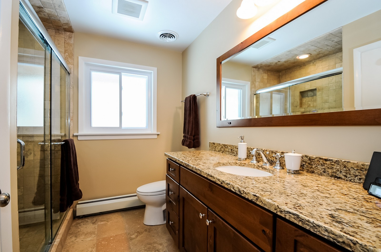 Real Estate Photography - 734 Marion Ave, Highland Park, IL, 60035 - Master Bathroom