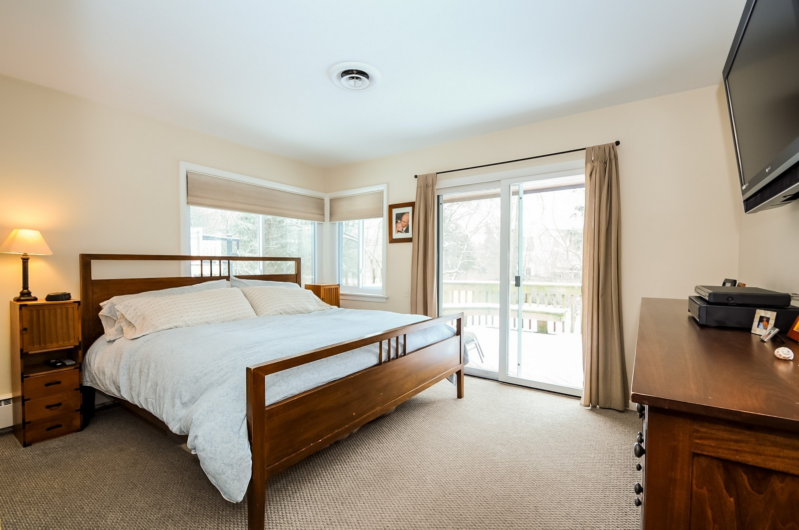 Real Estate Photography - 734 Marion Ave, Highland Park, IL, 60035 - Master Bedroom