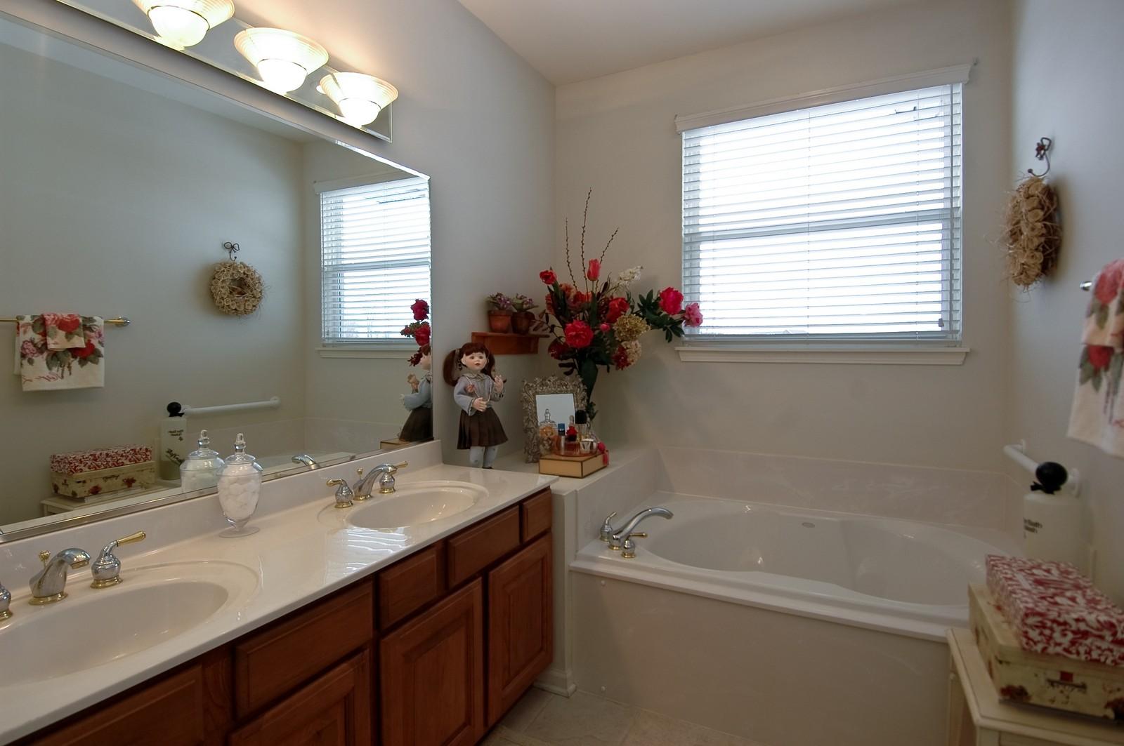 Real Estate Photography - 12610 Oak Grove Dr, Huntley, IL, 60142 - Master Bathroom