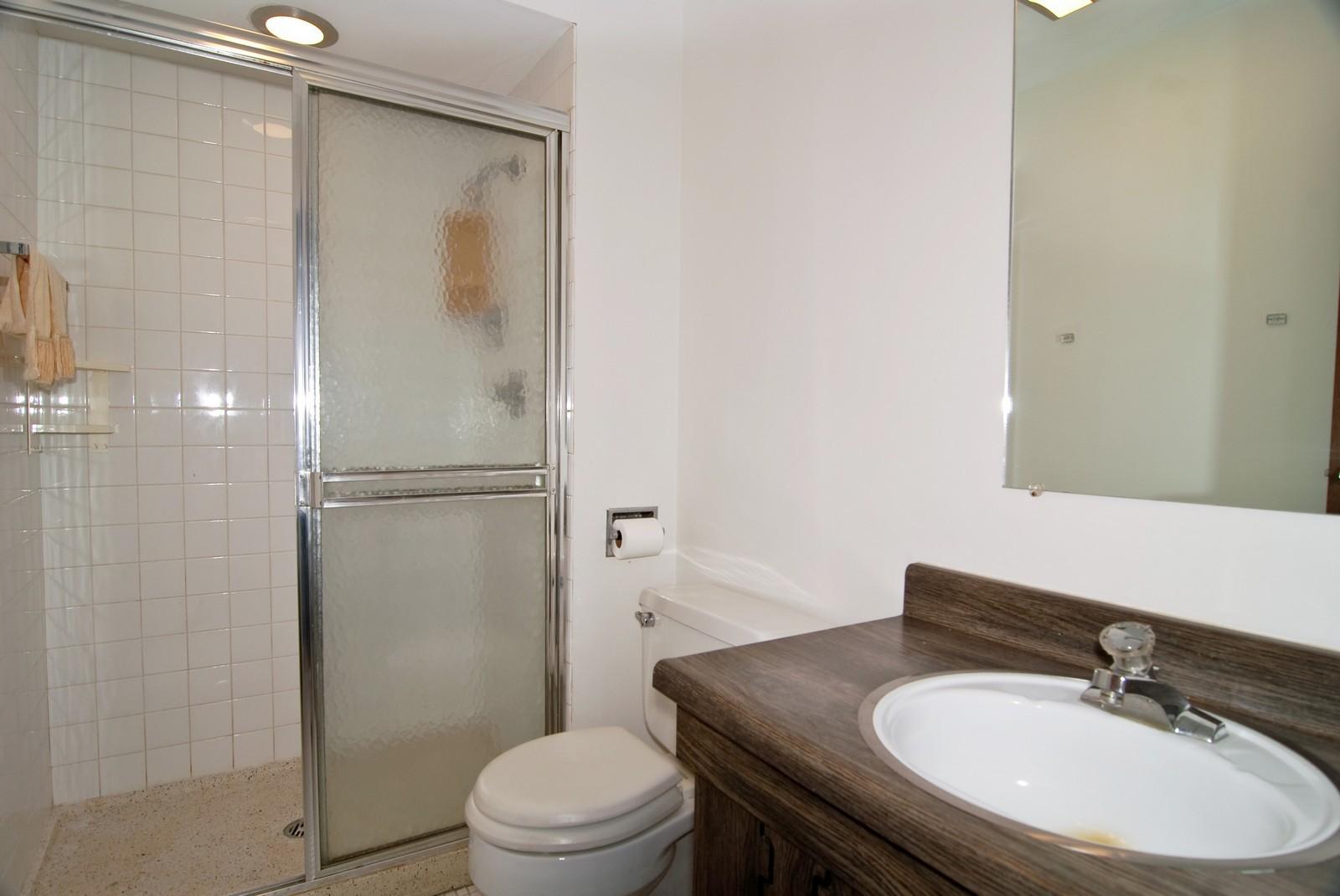 Real Estate Photography - 7904 W North Ave, Unit 303E, Elmwood Park, IL, 60707 - Bathroom