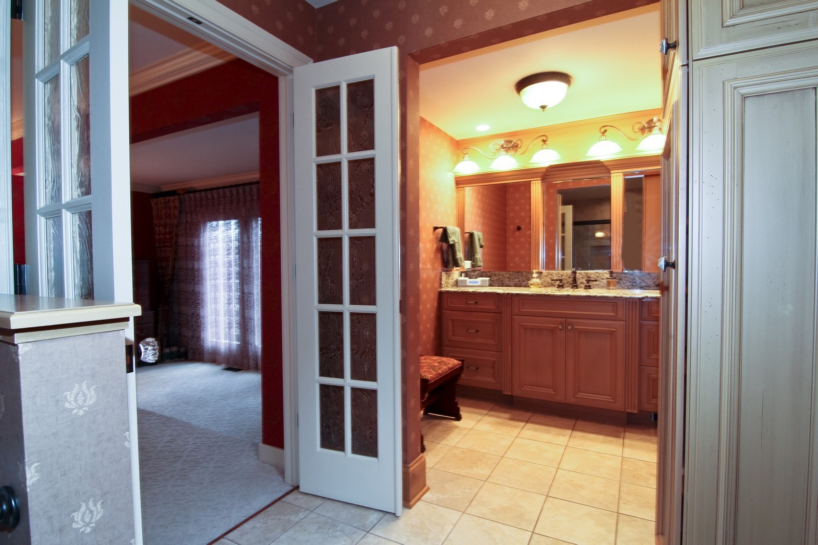 Real Estate Photography - 1160 Mistwood Ln, Downers Grove, IL, 60515 - Master Bathroom