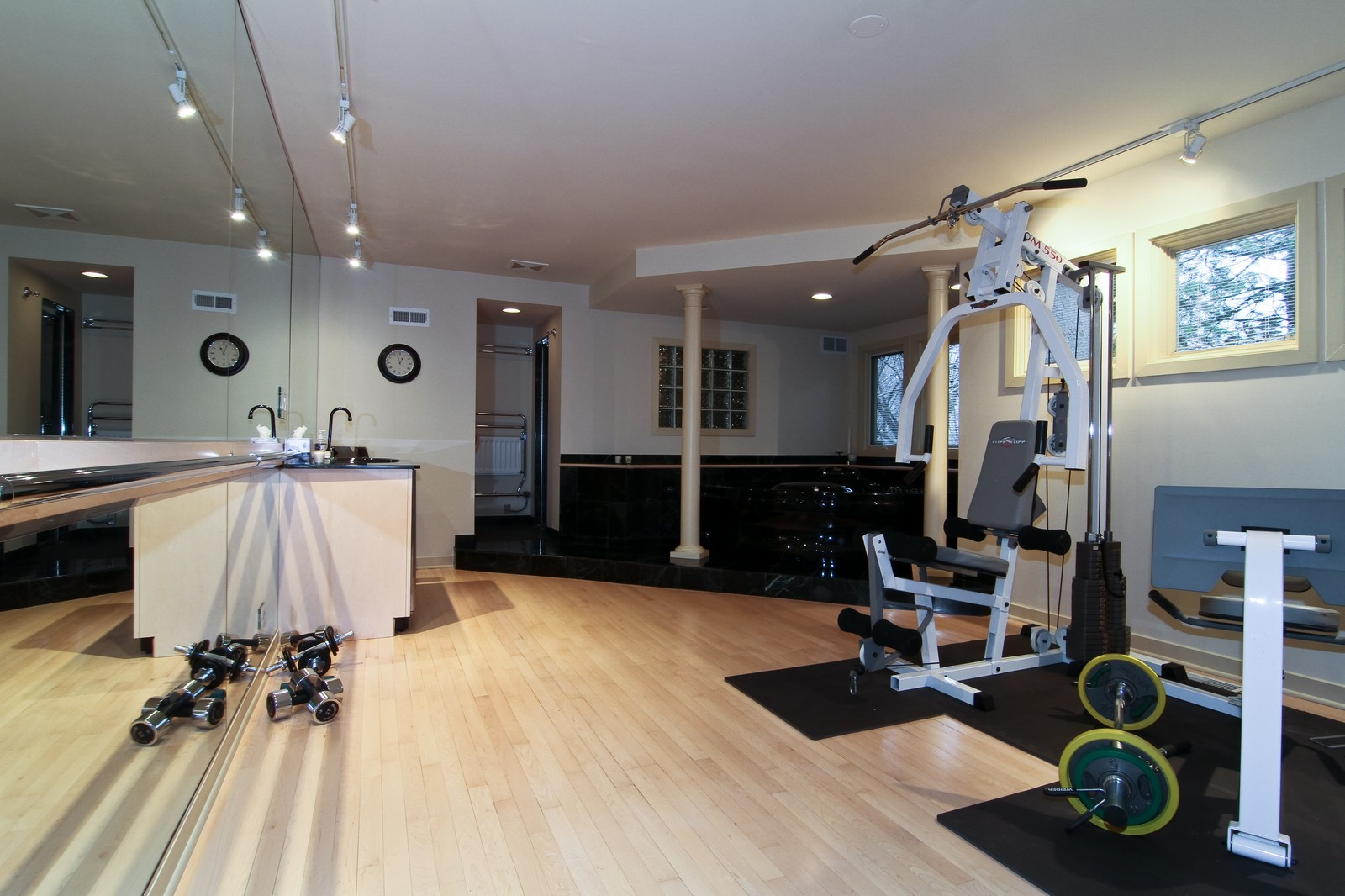Real Estate Photography - 1160 Mistwood Ln, Downers Grove, IL, 60515 - Fitness Center