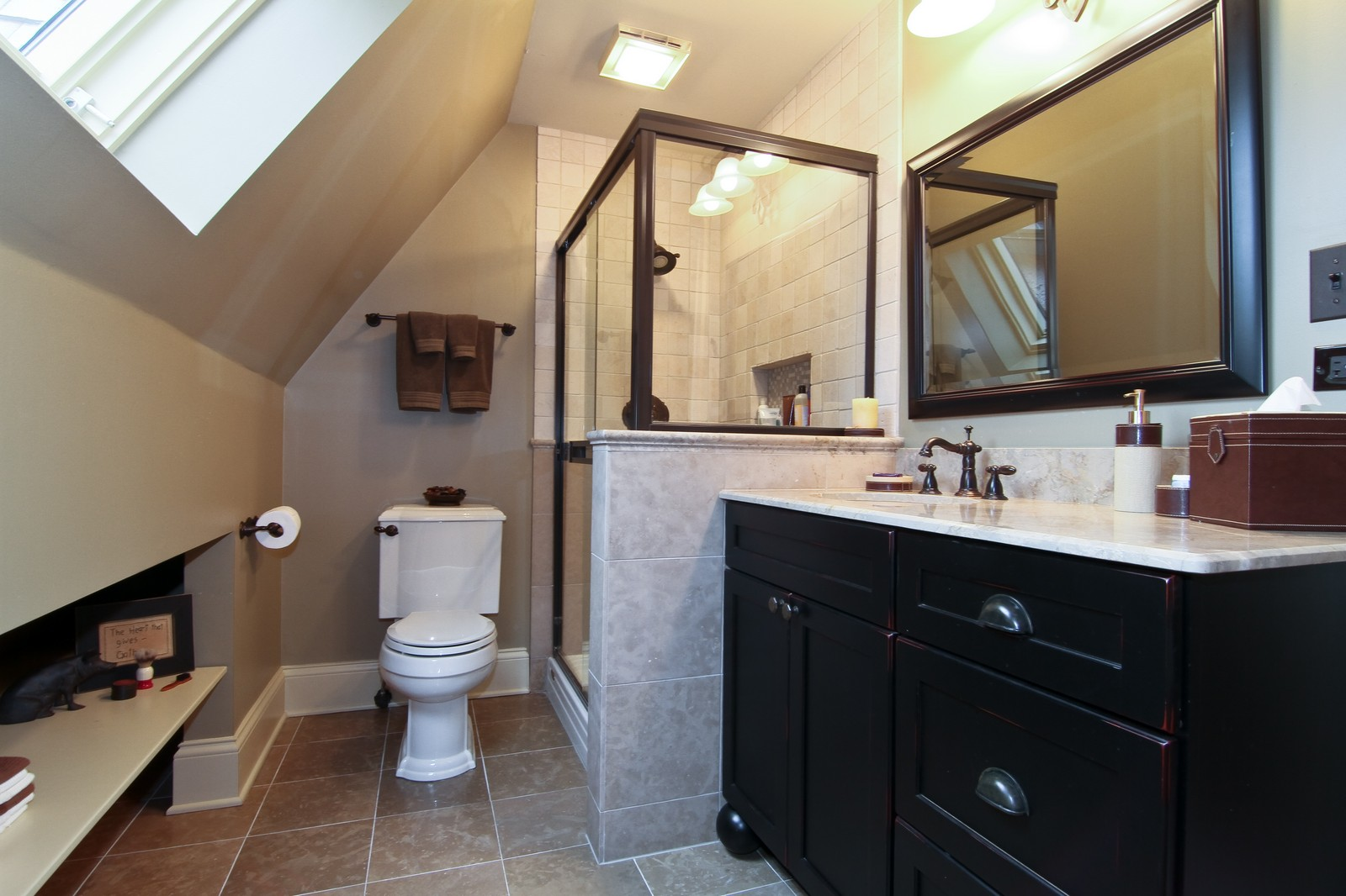 Real Estate Photography - 1160 Mistwood Ln, Downers Grove, IL, 60515 - Bathroom