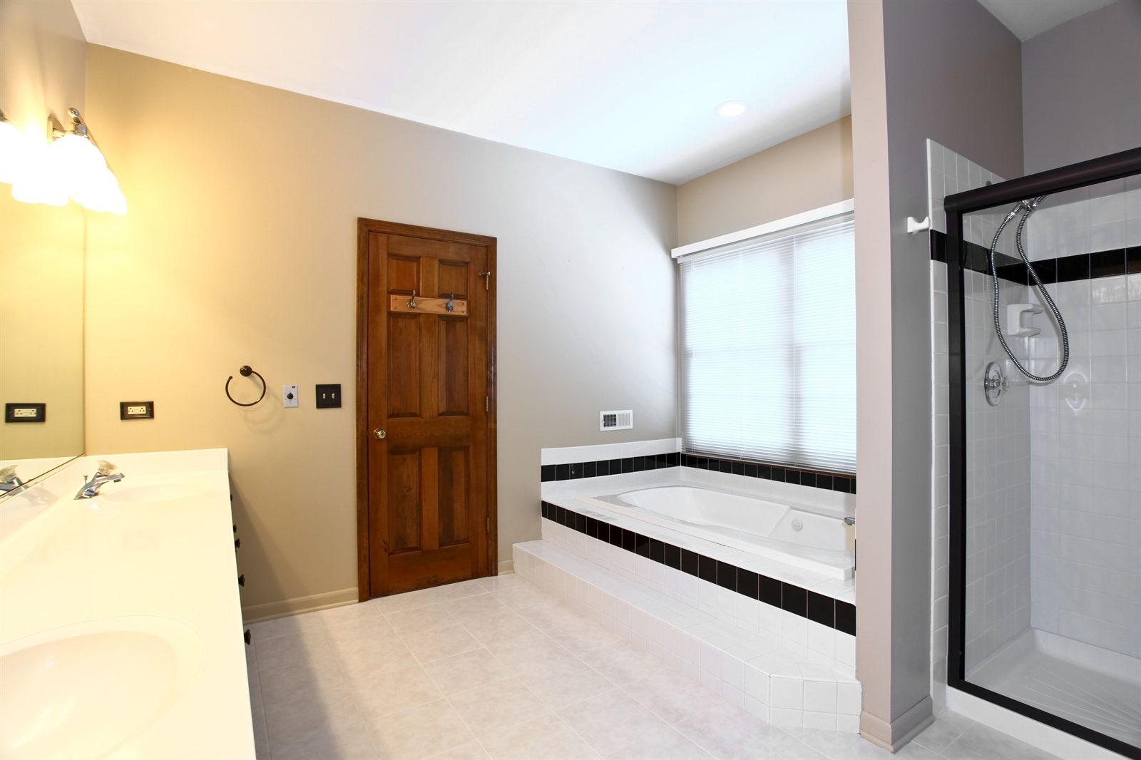 Real Estate Photography - 1S720 Alsace Court, Winfield, IL, 60190 - Master Bathroom