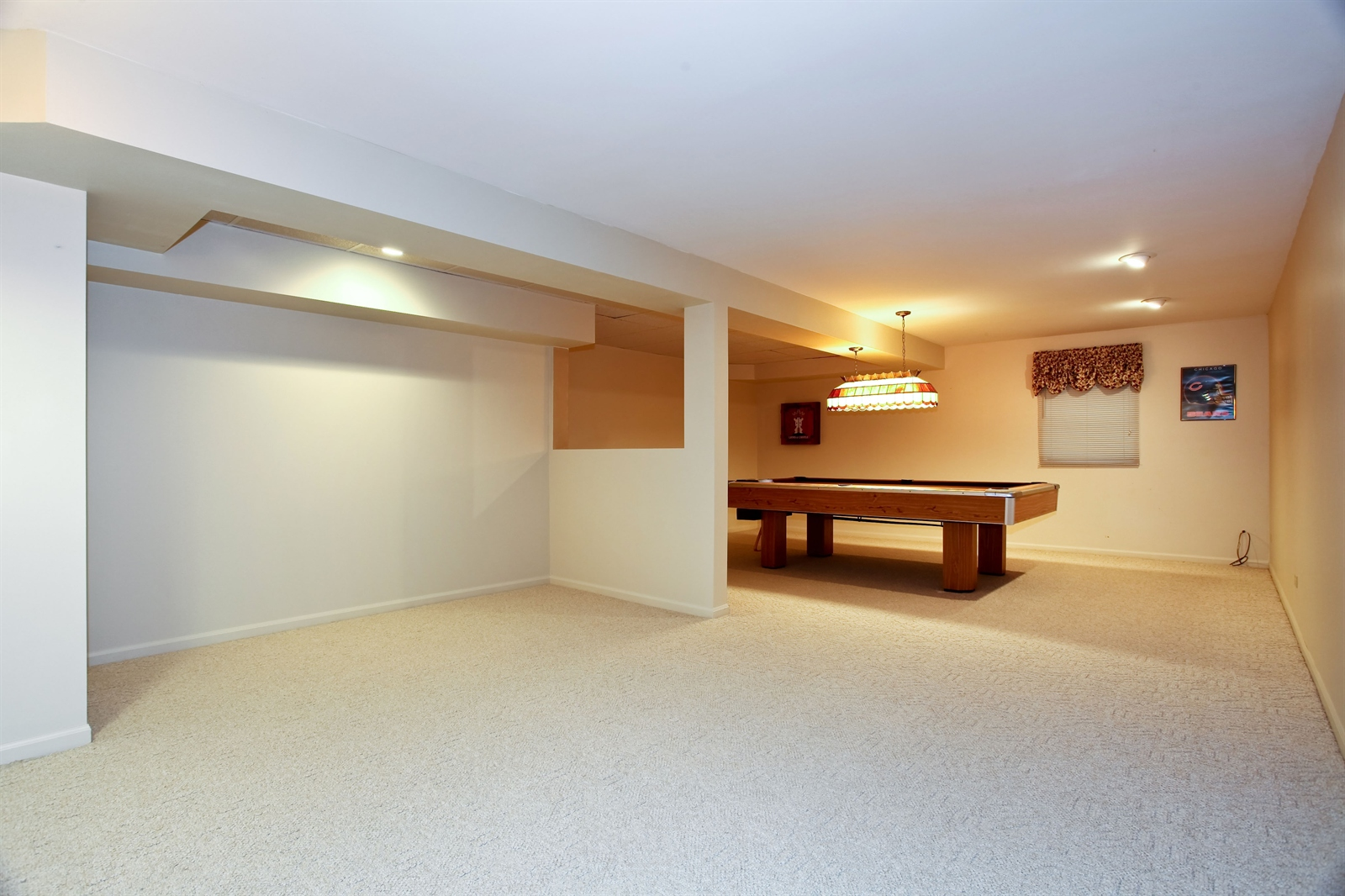 Real Estate Photography - 1S720 Alsace Court, Winfield, IL, 60190 - Gameroom
