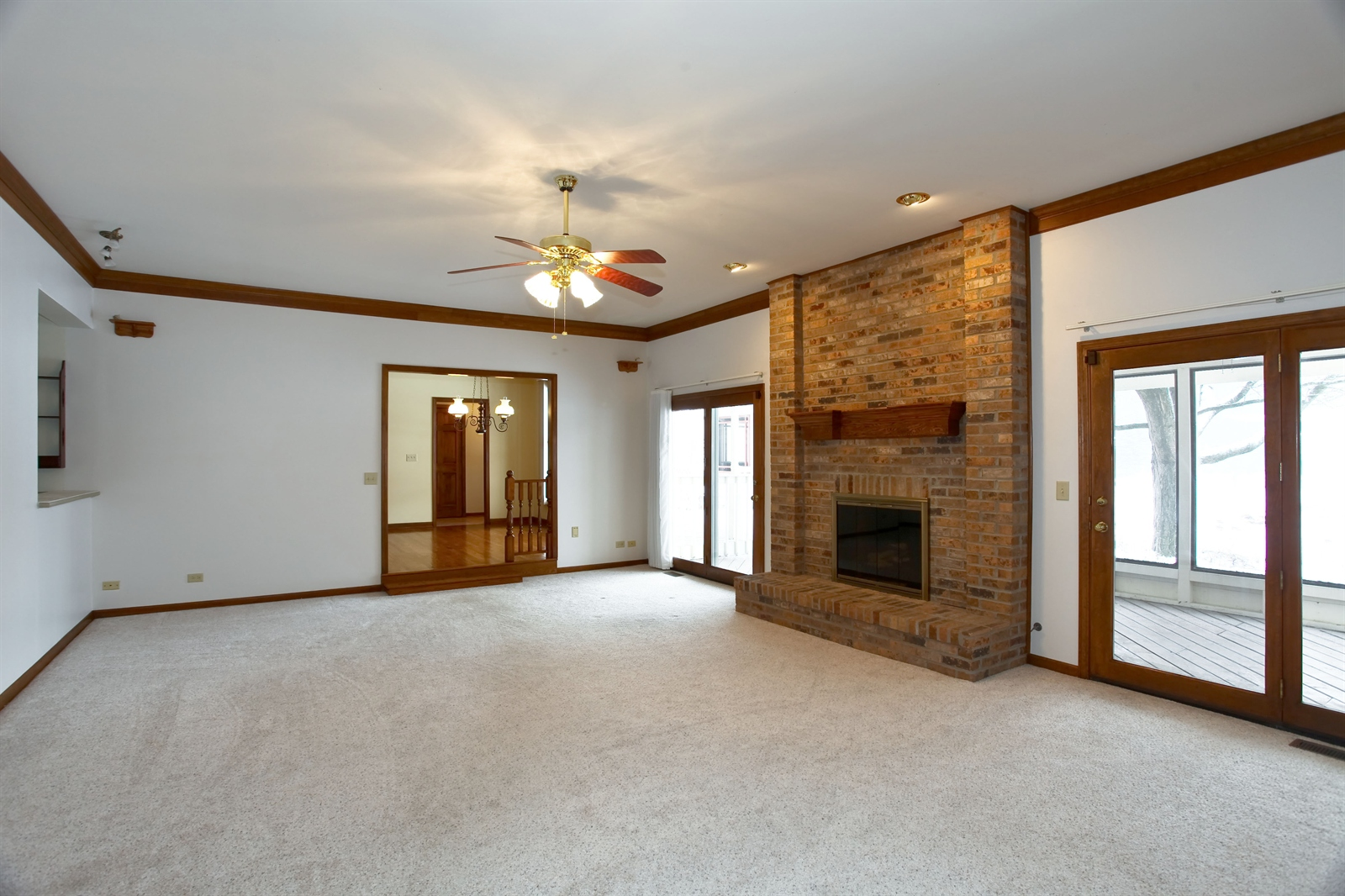 Real Estate Photography - 1S720 Alsace Court, Winfield, IL, 60190 - Family Room