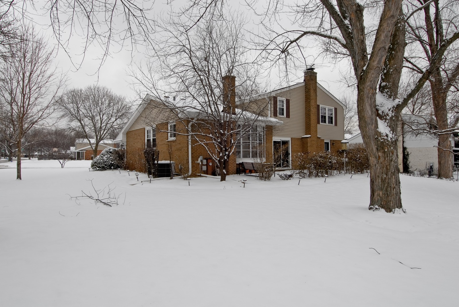 Real Estate Photography - 10 Papago Ct, Naperville, IL, 60563 - Rear View