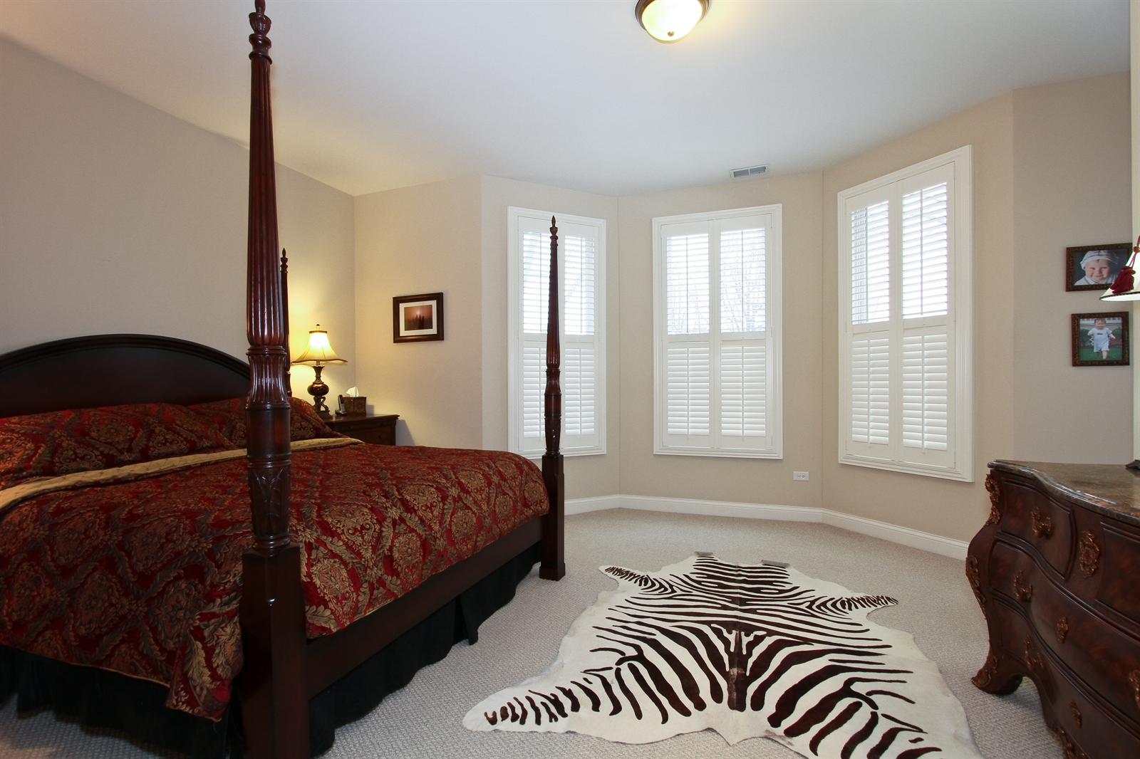 Real Estate Photography - 18213 Martin Ave, Homewood, IL, 60430 - Master Bedroom