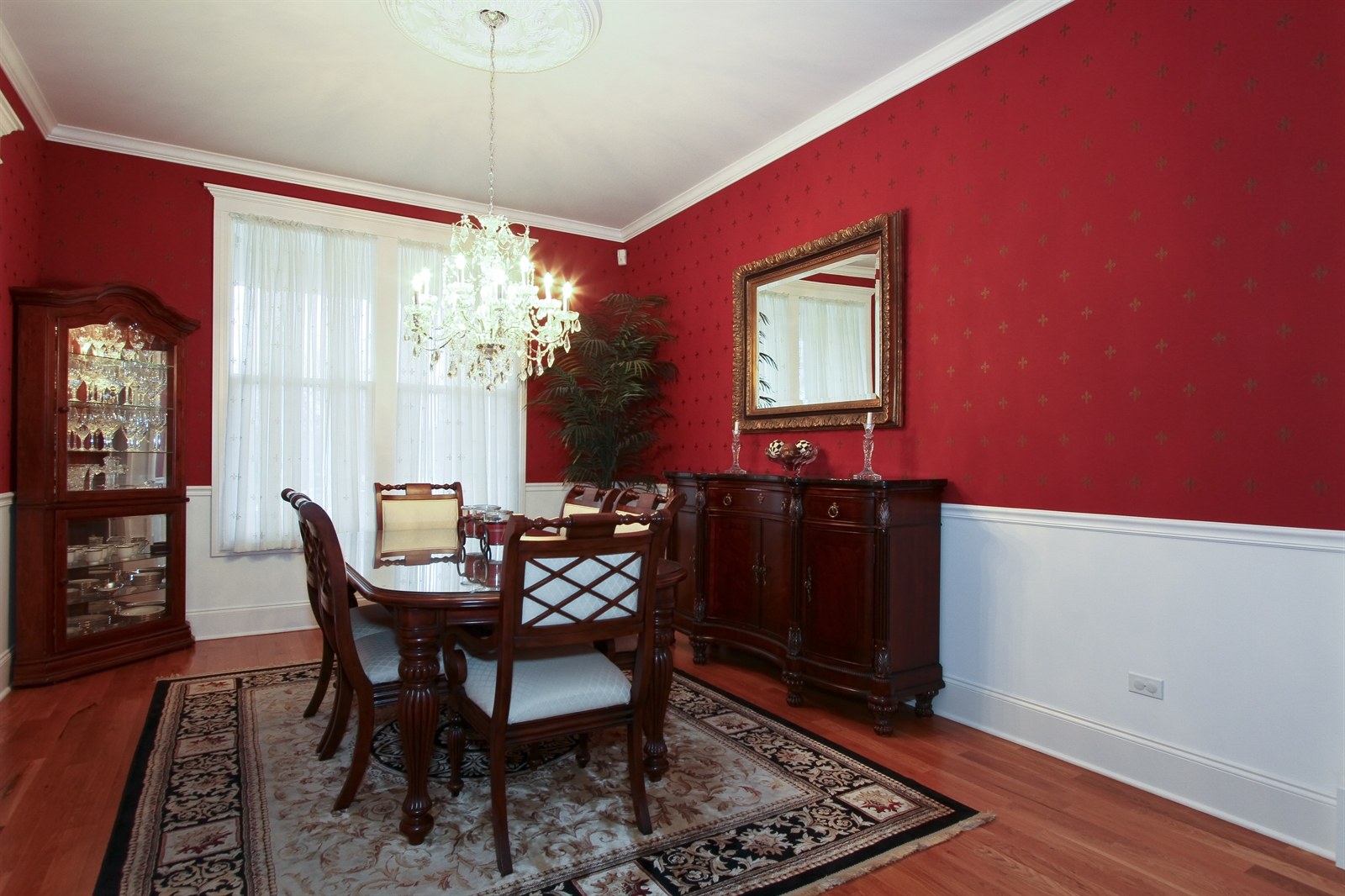 Real Estate Photography - 18213 Martin Ave, Homewood, IL, 60430 - Dining Room
