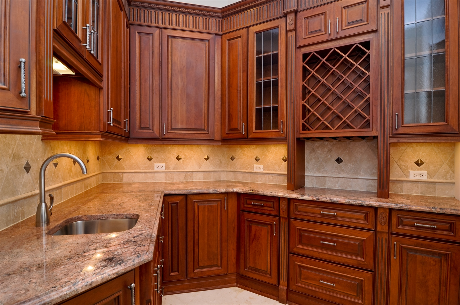 Real Estate Photography - 411 Caesar Dr, Barrington Hills, IL, 60010 - Kitchen