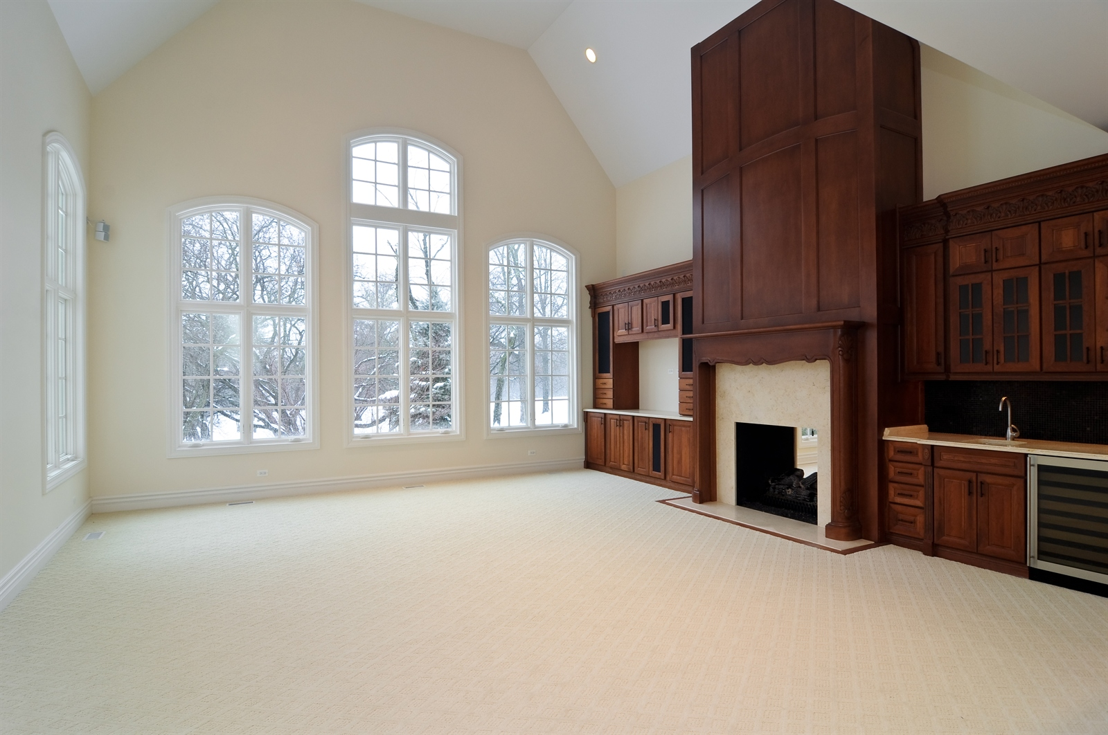 Real Estate Photography - 411 Caesar Dr, Barrington Hills, IL, 60010 - Family Room