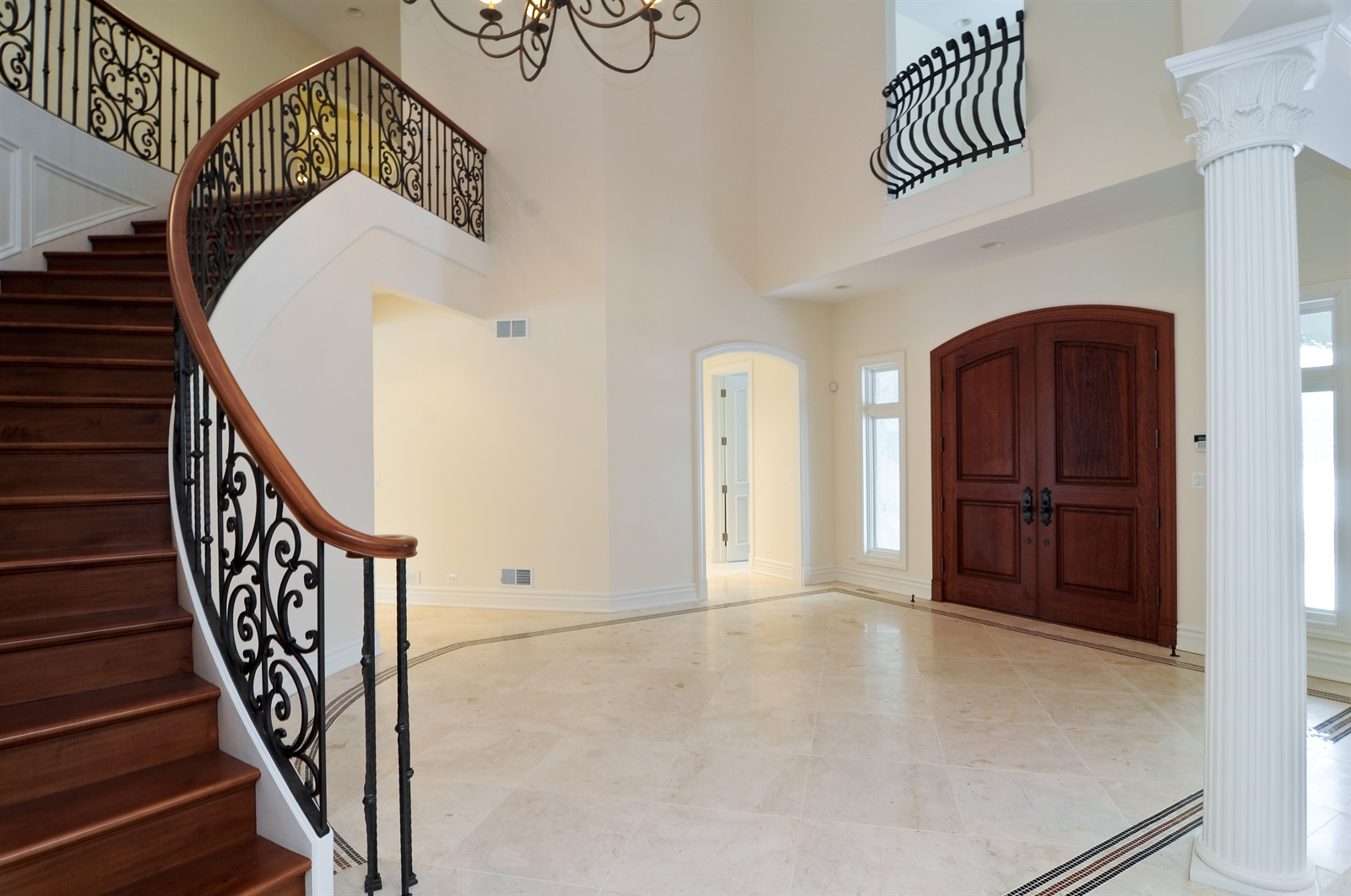 Real Estate Photography - 411 Caesar Dr, Barrington Hills, IL, 60010 - Foyer