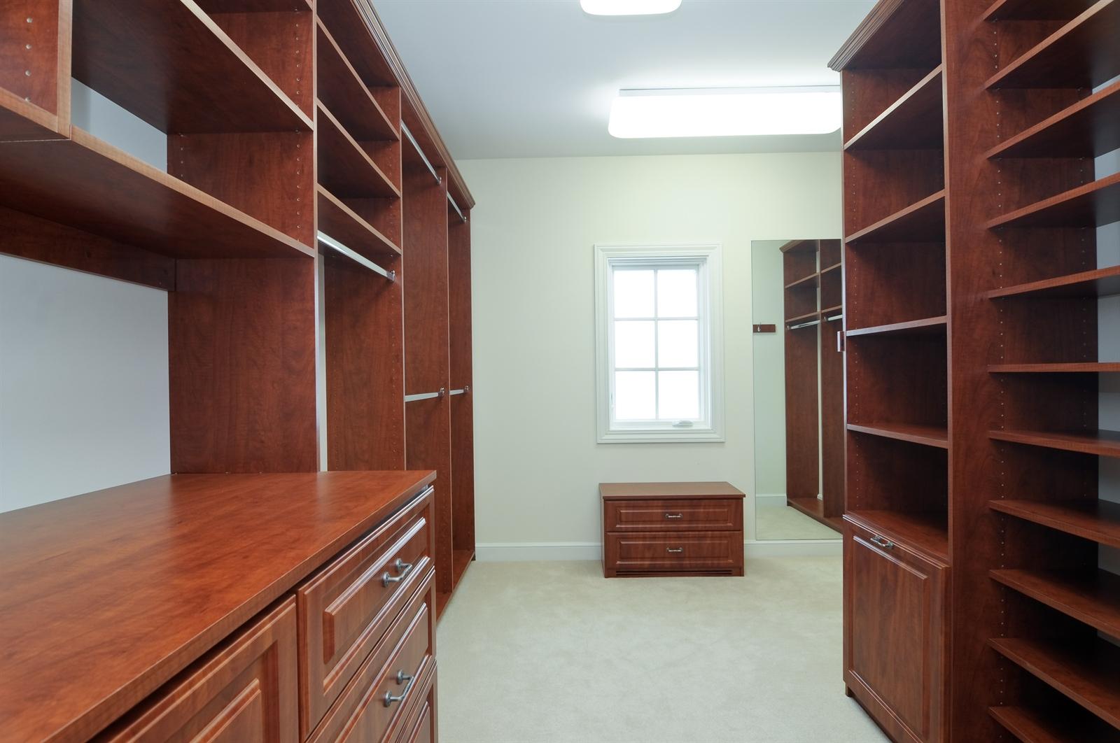 Real Estate Photography - 411 Caesar Dr, Barrington Hills, IL, 60010 - Master Bedroom Closet