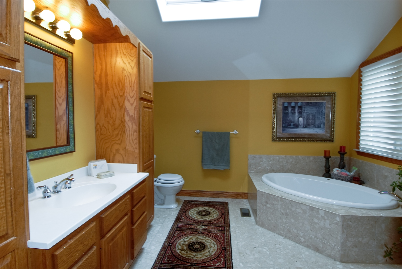 Real Estate Photography - 620 E Gartner Rd, Naperville, IL, 60540 - Master Bathroom