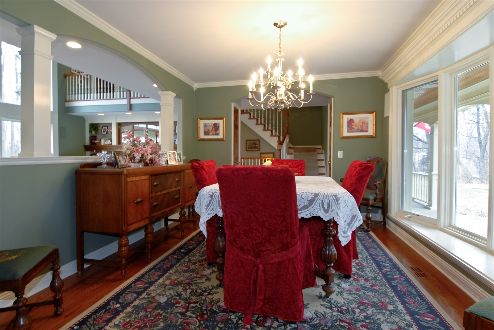 Real Estate Photography - 620 E Gartner Rd, Naperville, IL, 60540 - Dining Room