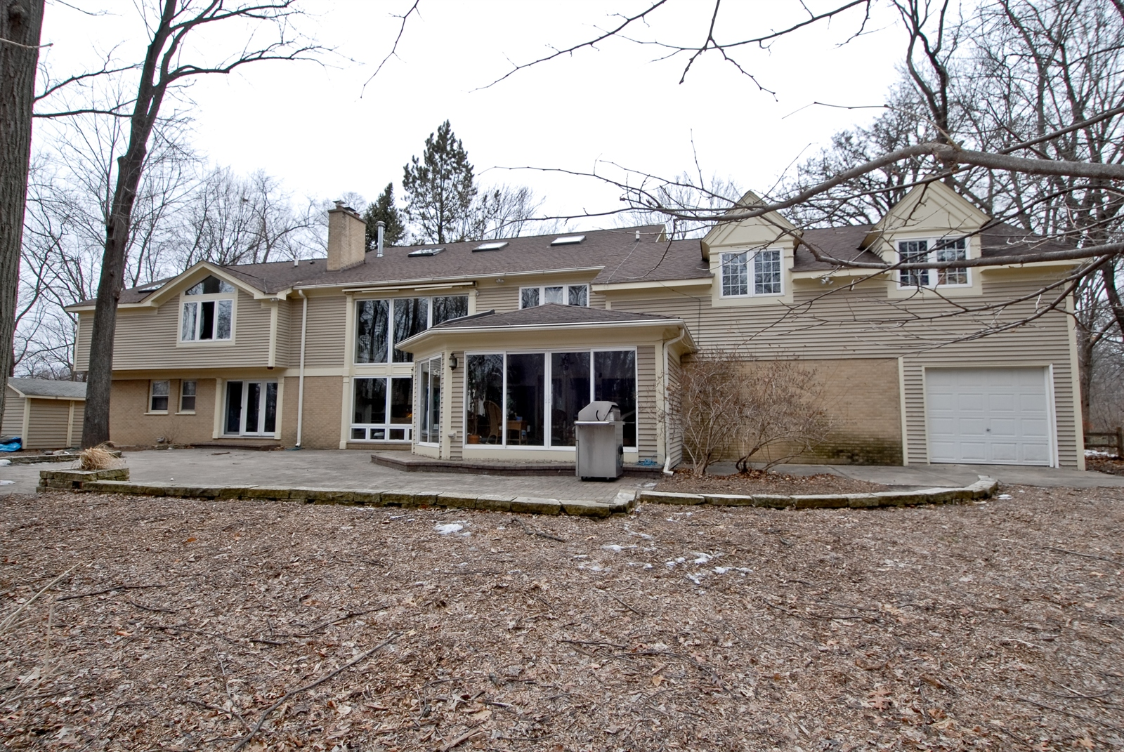 Real Estate Photography - 620 E Gartner Rd, Naperville, IL, 60540 - Rear View