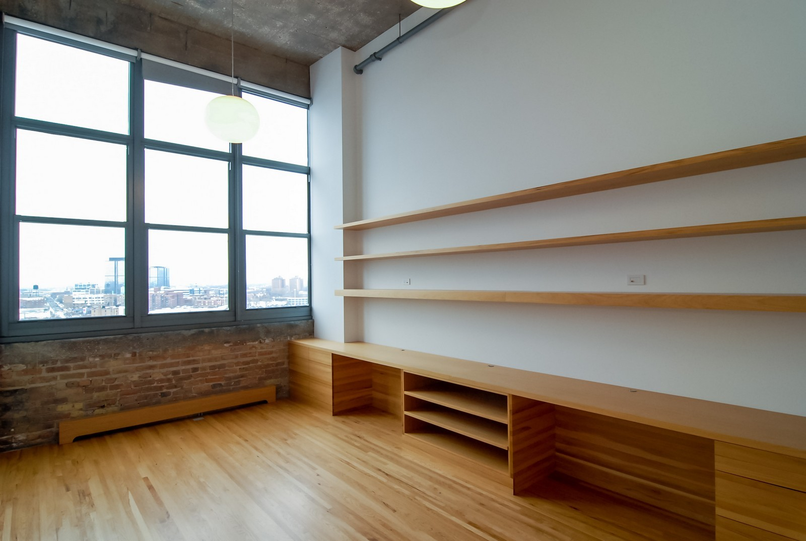Real Estate Photography - 900 N Kingsbury St, Unit 950, Chicago, IL, 60654 - 3rd Bedroom