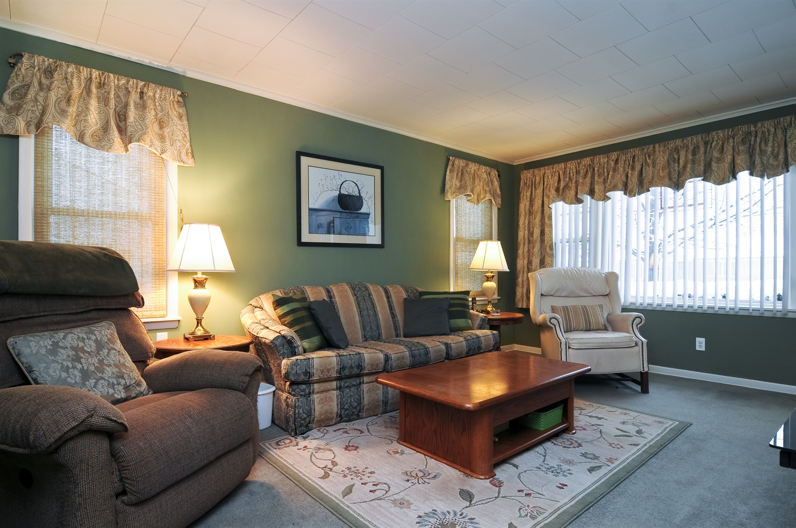 Real Estate Photography - 214 Helena Ave, Wauconda, IL, 60084 - Living Room