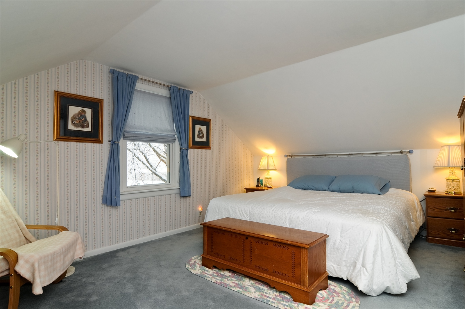 Real Estate Photography - 214 Helena Ave, Wauconda, IL, 60084 - Master Bedroom