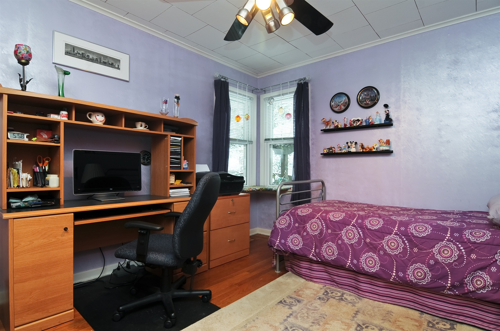 Real Estate Photography - 214 Helena Ave, Wauconda, IL, 60084 - 2nd Bedroom