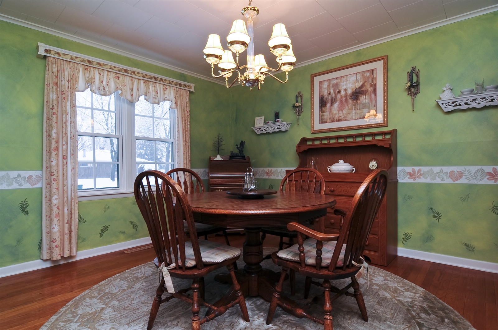 Real Estate Photography - 214 Helena Ave, Wauconda, IL, 60084 - Dining Room