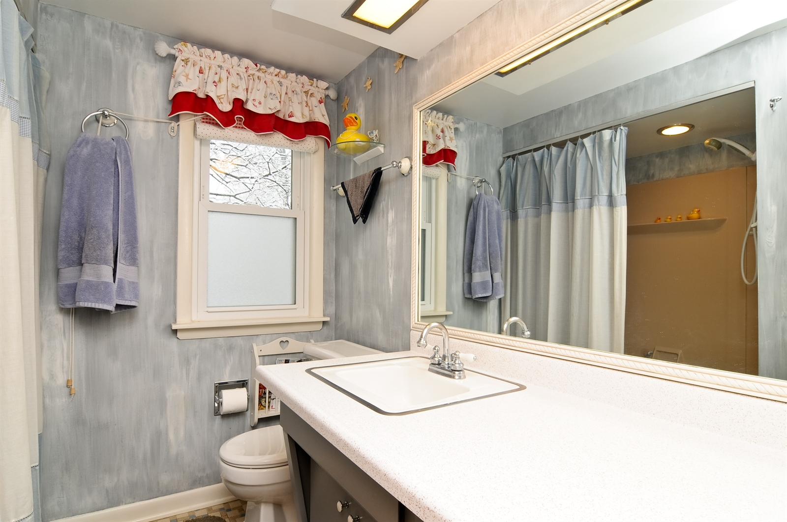 Real Estate Photography - 214 Helena Ave, Wauconda, IL, 60084 - Bathroom