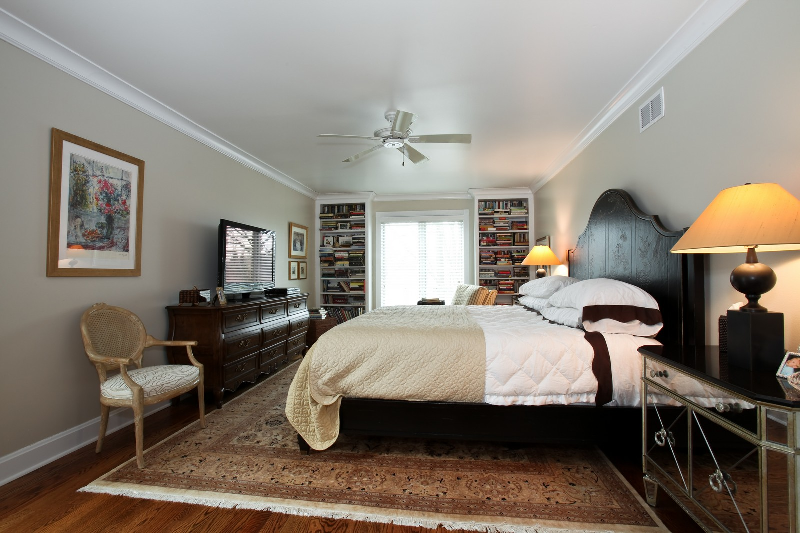 Real Estate Photography - 1 Strauss Lane, Olympia Fields, IL, 60461 - Master Bedroom