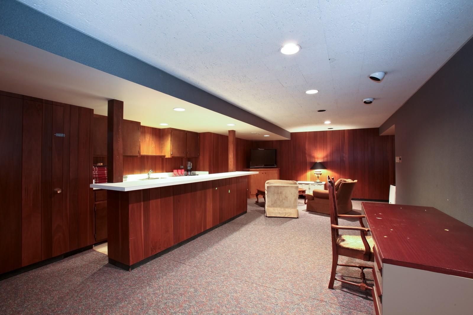 Real Estate Photography - 1 Strauss Lane, Olympia Fields, IL, 60461 - Basement