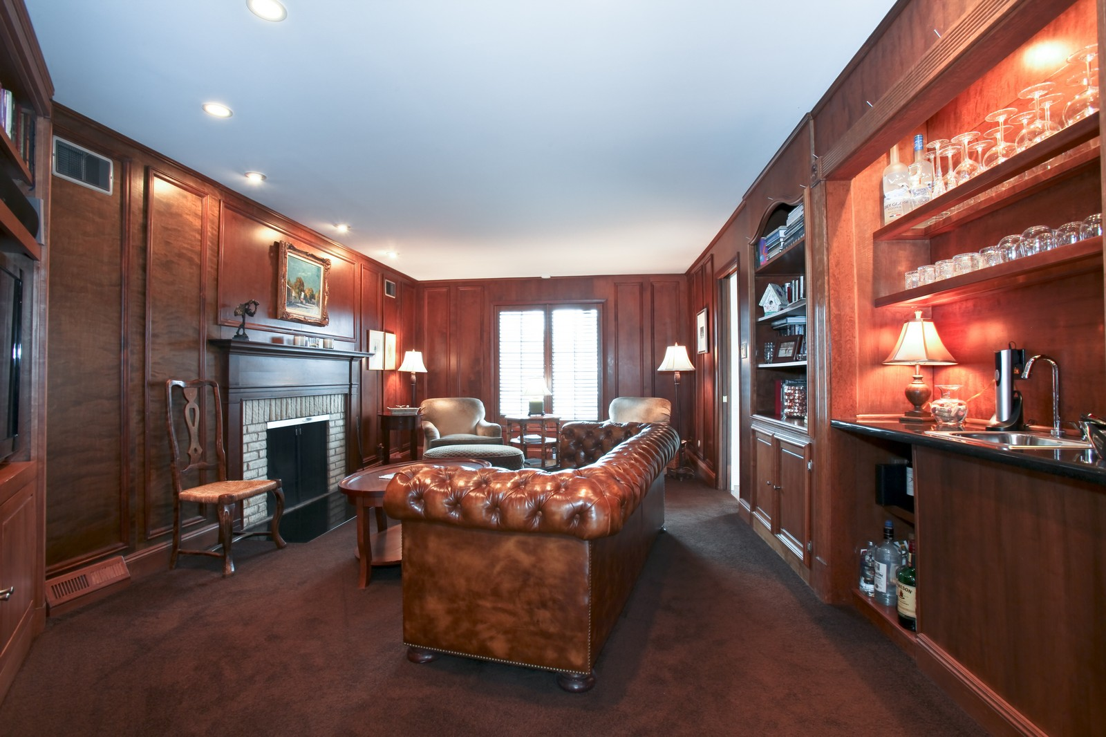 Real Estate Photography - 1 Strauss Lane, Olympia Fields, IL, 60461 - Family Room